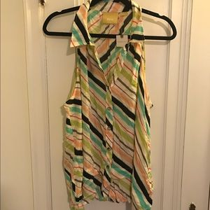 Anthropologie Meave striped top