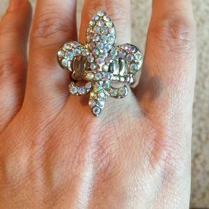 Small Fleur De Lis Ring