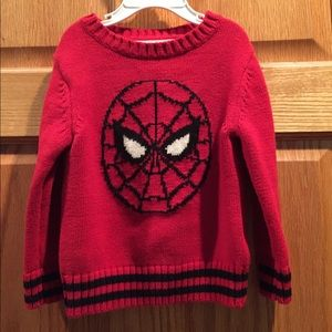 Junk Food Clothing Other - Spider-Man Marvel Comics Toddler Sweater