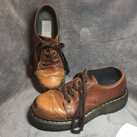 Boots Vtg Dr Martens Leather Ankle Boots Original Made In England Men Sz 6 Damaged Sales Of Quality Assurance Clothing, Shoes & Accessories