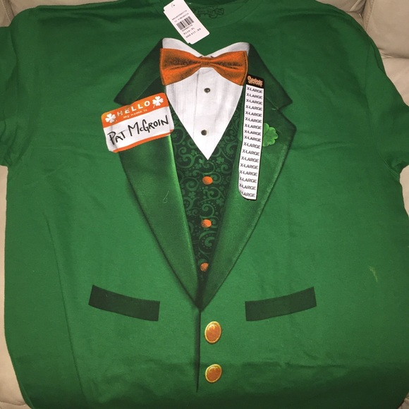 4d6b35121 Spencer's Shirts | Pat Mcgroin Irish Tuxedo Mens Tshirt | Poshmark