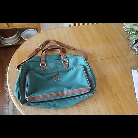 e0d778f7178f Vintage Ralph Lauren POLO Canvas Duffel Gym Bag