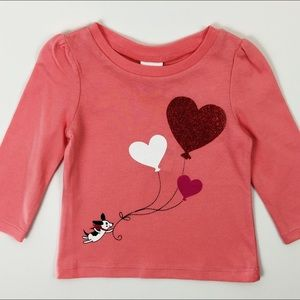 Gymboree Other - Gymboree: Pink Valentines Shirt, NWT