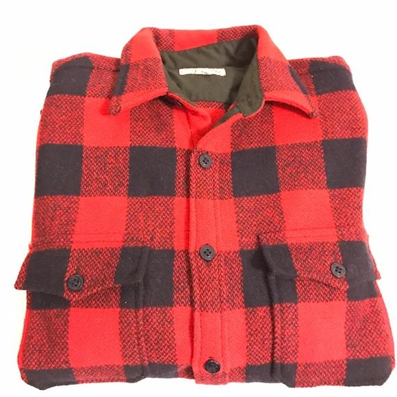 e201b38d J. Crew Shirts | J Crew Buffalo Shirtjacket Wallace Barnes | Poshmark