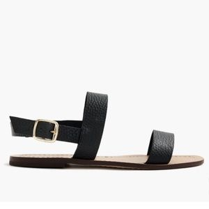 J. Crew Shoes - NWT. J. Crew 'Jules' Sandals. Leather. Size 8.