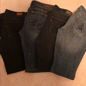 Denim - Lot of 4 jeans size 10 and size 30
