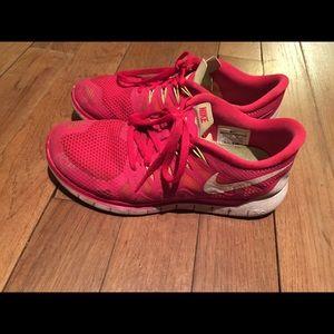 Nike Free Run 5.0 Red Women's