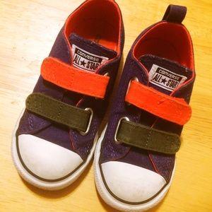 Converse Chuck Taylor 2-Strap Velcro Tri-Colors