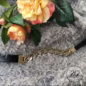 INC International Concepts Accessories - INC Gold Chain Linked Belt