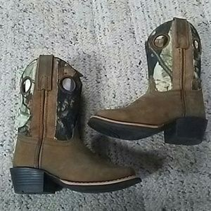 Other - New camo sq. Toe boots