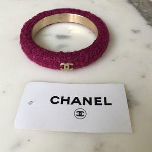 CHANEL Jewelry - Chanel tweed bracelet