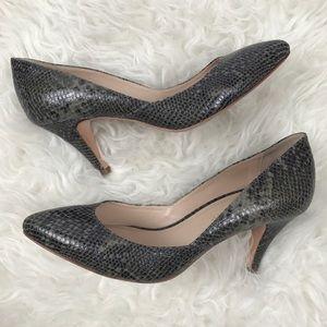 Loeffler Randall Shoes - Loeffler Randall Snakeskin Pumps
