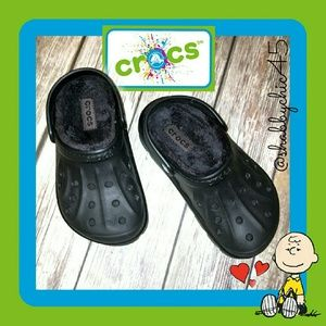 CROCS Other - Youth Faux Fur Lined Slingback Crocs PRICE FIRM