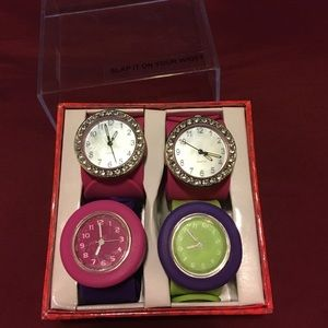 Swatch Other - 💯 New Slap watches set/new condition