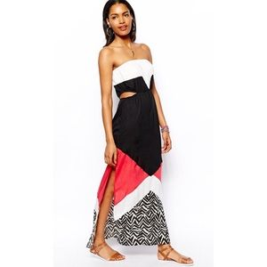 River Island Dresses & Skirts - 2 X HOST PICK 🎀 River Island Color Block Maxi
