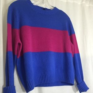 cos Sweaters - Cos size Medium 100% wool color blocked sweater