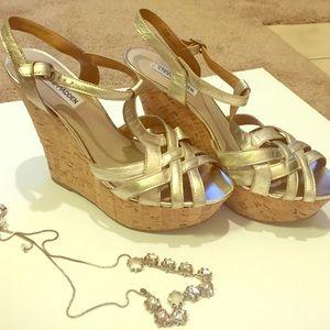 """Steve Madden Shoes - *Like New!* Steve Madden """"Wildness"""" Wedges"""