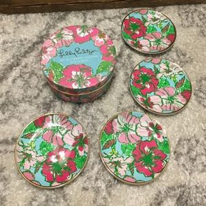 Lilly Pulitzer Other - Lilly Pulitzer ceramic coasters
