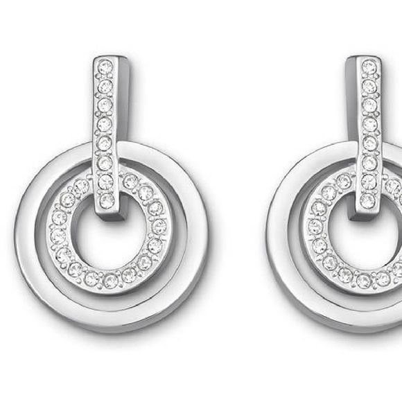 48c9730bd Swarovski circle mini pierced earrings - 5007750. M_58803cf52de5121d6d017e9e