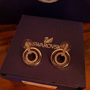 109364e01 Swarovski Jewelry - Swarovski circle mini pierced earrings - 5007750