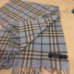 Burberry Accessories - Burberry Nova Check 100% Cashmere scarf