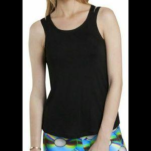 Zara Terez Other - Zara Terez Black Double Straps Scoop Top NWT