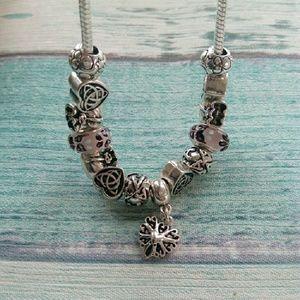 Jewelry - Orignal Silver Beads Charm Bracelets