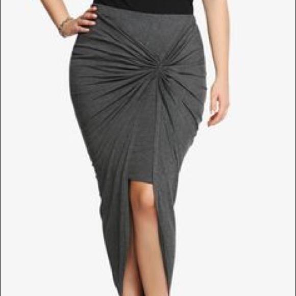 torrid Dresses & Skirts - Torrid Jersey knit Grey Pencil Skirt
