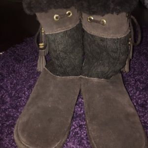 Used, brown bear paws for sale