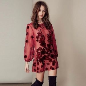 Authentic For Love and Lemons Heather Mini-dress