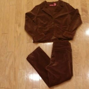 Thalia Sodi Jackets & Blazers - Thalia Sodi Velour Pants Suit