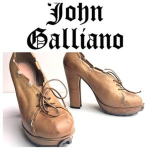 Galliano Shoes - John Galliano lace heels shoes 38 1/2 8 1/2 💋