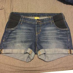 old navy Pants - Old Navy Maternity Denim Shorts
