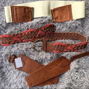 Accessories - 3 M/L Belt Bundle.