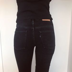 Levi's Jeans - Levi's empire skinny jeans. Washed out black.