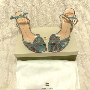 KATE SPADE Turquoise Heels