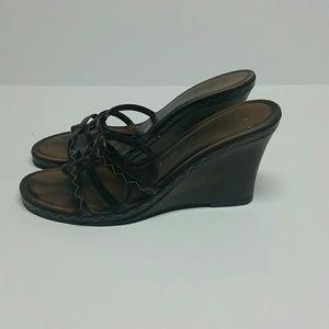 Vero Cuoio Rigenerato  Shoes - Made in Italy Wedge Sandals