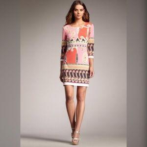 Ali Ro Dresses & Skirts - Ali Ro shift quarter sleeve dress arabesque print
