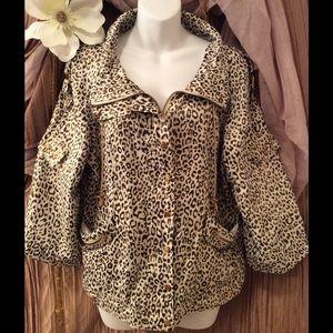 JUST B  Jackets & Blazers - JUST B Cheetah Print Women's Jacket💕💕