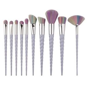 Other - ONLY 1 LEFT!🦄🌈Unicorn Makeup Brushes 🦄🌈
