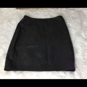 Ralph Lauren Purple Label Dresses & Skirts - Ralph Lauren Purple Tag Leather Skirt.  Sz 8