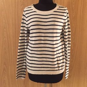 Banana Republic Striped Sweater - Small