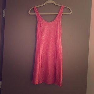 Guess short pink summer dress