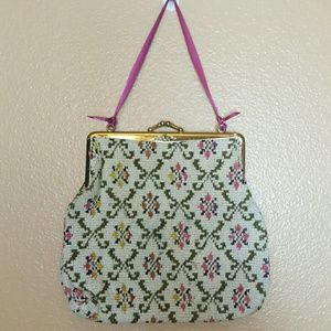 Vintage Handbags - VINTAGE Japanese Handmade Purse