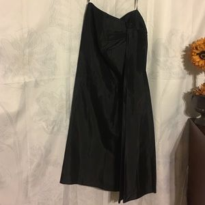 Patra Dresses & Skirts - Patra Satin Long Black Skirt