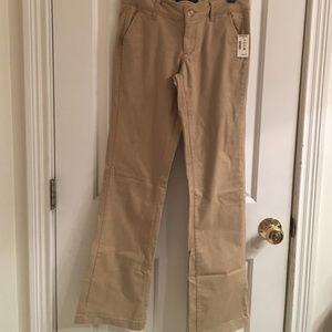 NWT- Aeropostale Classic Low Rise Khaki Pants