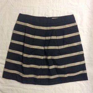 LOFT Dresses & Skirts - NWOT LOFT navy striped skirt size 2