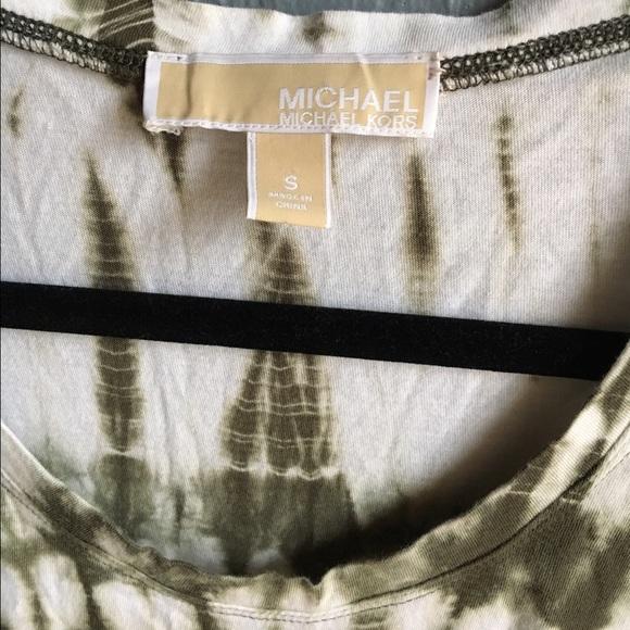 MICHAEL Michael Kors Tops - MICHAEL Michael Kors Tie Dye Top w/ Drawstring