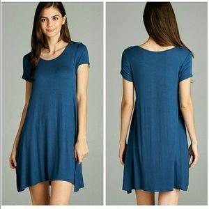 Fashionomics Dresses & Skirts - LAST 3! Denim Blue Dress 💕