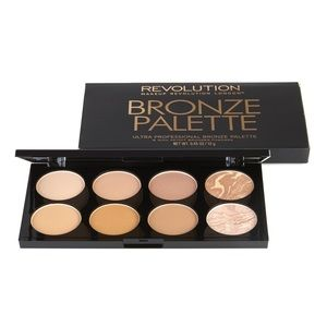 Make Up Revolution All About Bronzed Palette